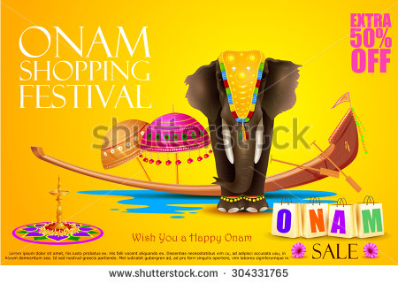 stock-vector-easy-to-edit-vector-illustration-of-decorated-elephant-for-happy-onam-304331765