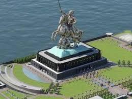 statue of sivaji